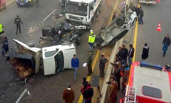 accident algerie